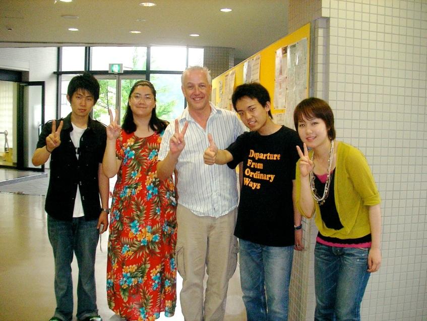Aki, Alia, Me, Yasu and Risa