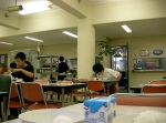 Cafeteria @ breakfast