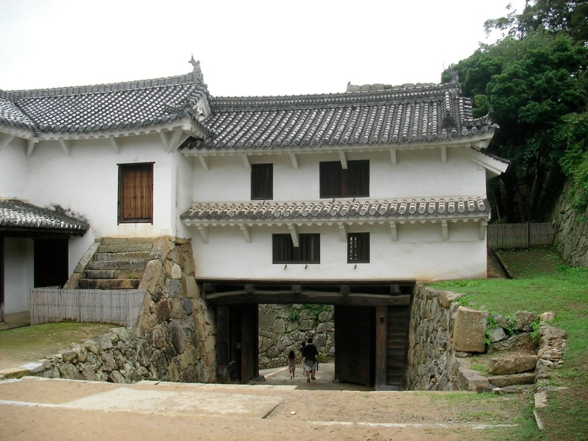 Exit passage and Gate House