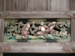 Famous Monkeys on Shinkyusha, Nikko