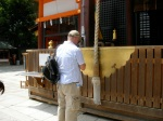 First shrine visit
