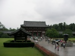 In Front of the Great Buddha Hall
