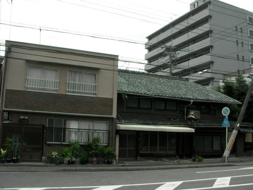Interesting neighborhood architecture