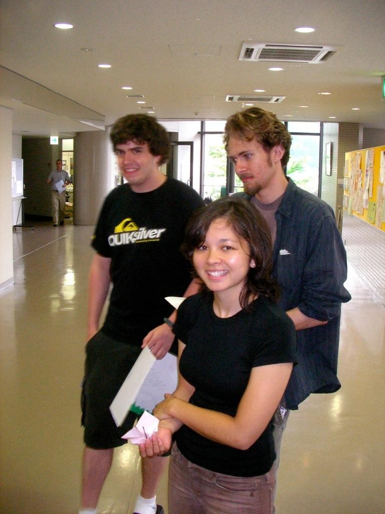 Junko & the boys (Kevin & Erik)