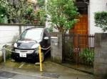Kamakura - TINY parking space!