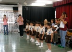 "Kindergarten 5 year old ""Simon Says"" winners!"