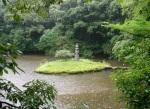 Kinkakuji Shrine Grounds - Island Pagoda