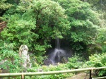Kinkakuji Shrine Grounds - Waterfall