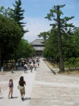 Looking toward Todaiji