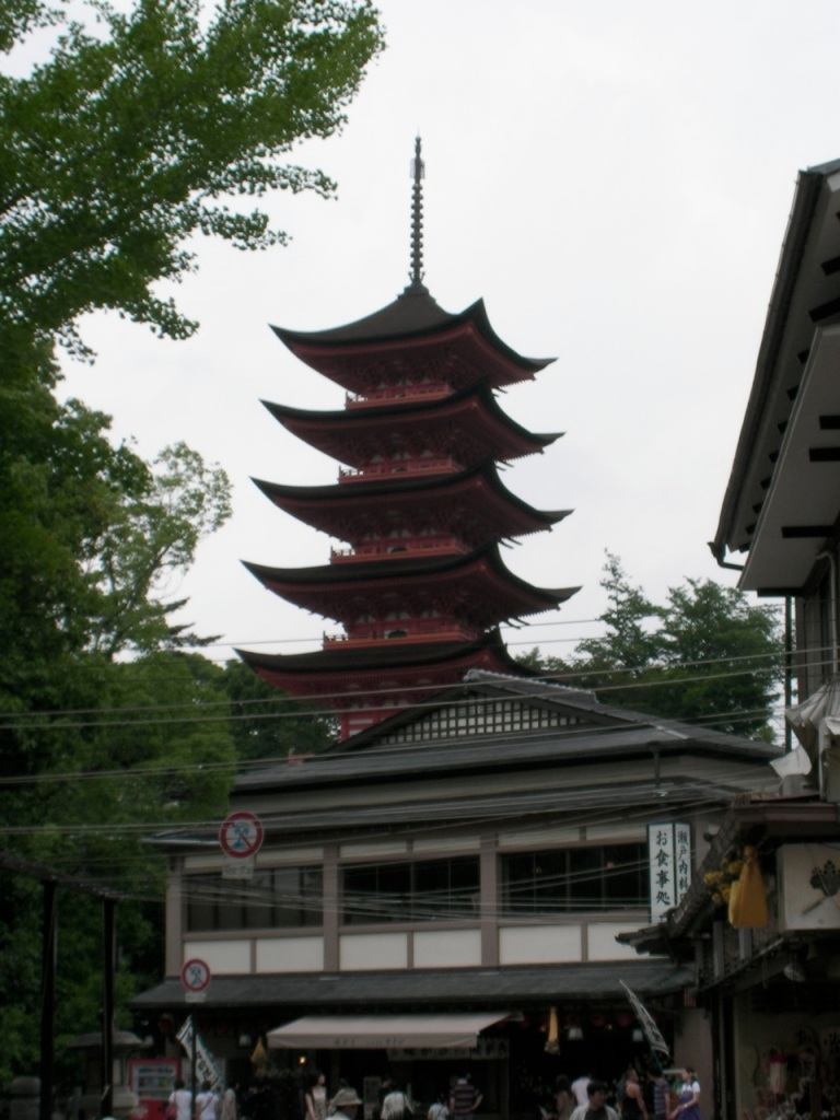 Miyajima Pagoda