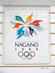 Nagano Station - Olympic Emblem