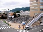 Nagano Street Scene - a LOT of bikes!