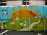 Nakano Station Murals