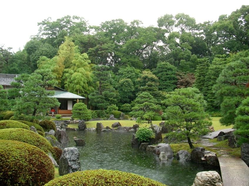 Nijo-jo Castle - Gardens & Tea House