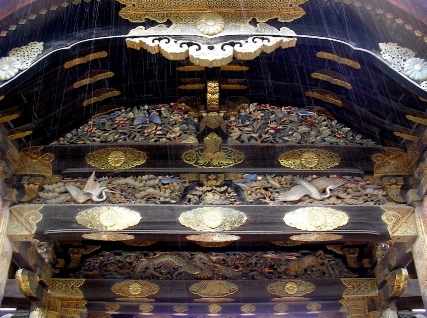 Nijo-jo Castle - Main Gate Detail