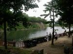 Osaka Castle & Fishermen