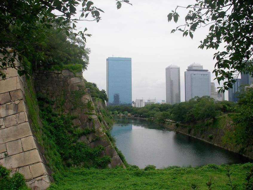 Osaka Castle & Skyline