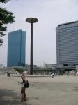 Osaka Skyline & Junko