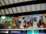 Osakajokoen Station Reliefs