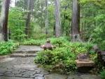 Outside the Kinkakuji Tea Room