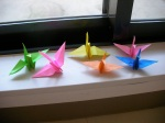 Paper Cranes - Only 994 more to go...