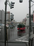 POURING Rain in Otaru!