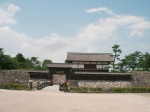 Reconstructed gateway to Kaizu Castle site