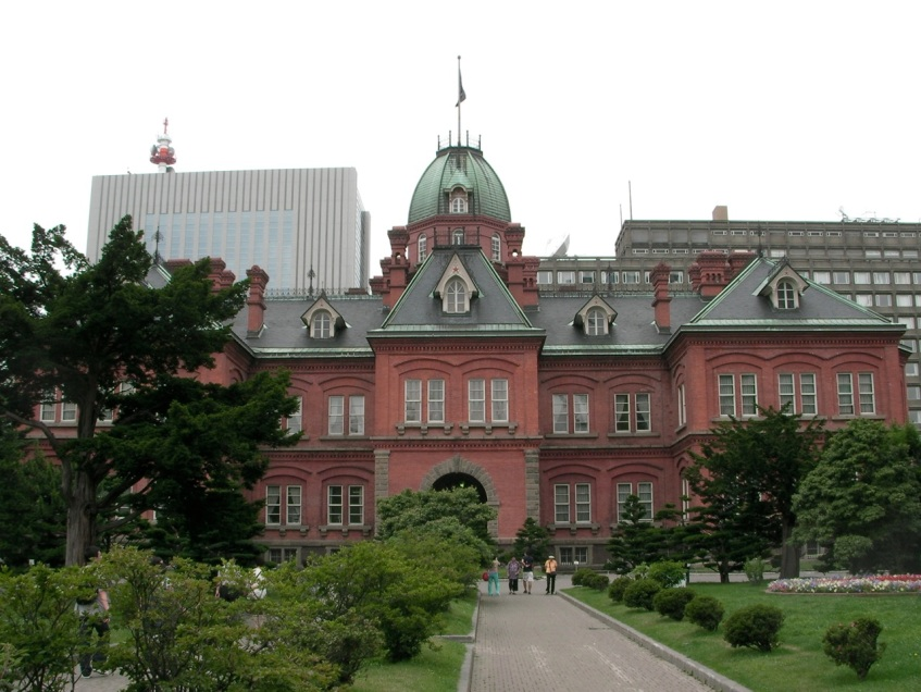 Sapporo Old Territorial Capital Building