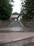Stairs to Sangatsu-do