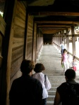 Steps up to Nigatsu-do