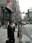 Strolling in Ginza