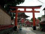 The Side Entrance Torii