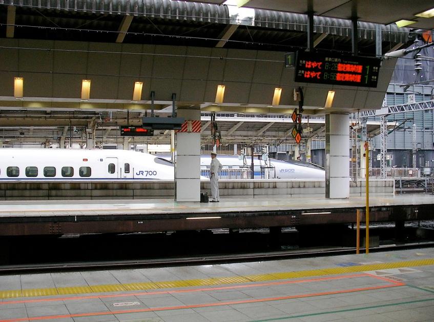 Tokyo Eki - JR West 500 & 700
