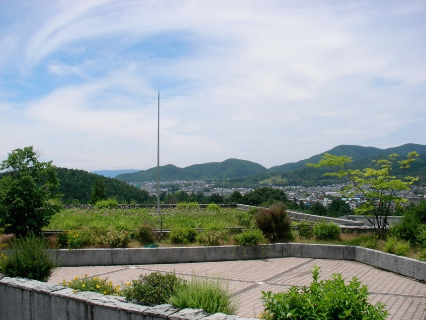 View of Kyoto from KSU