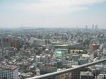 View of Osaka from Tsutenkaku Tower