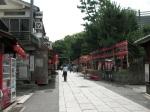 Walking to the Shrine