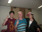 Yohei, Me and Taka—my two EXCELLENT CPs!