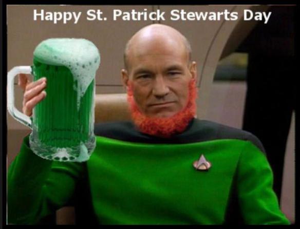 St Patrick Stewart
