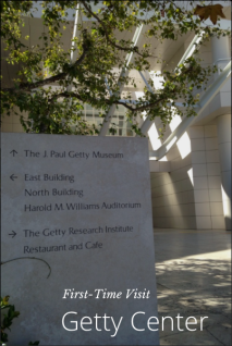 Steller: First-Time Visit to the Getty Center