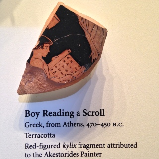 Greek cup fragment
